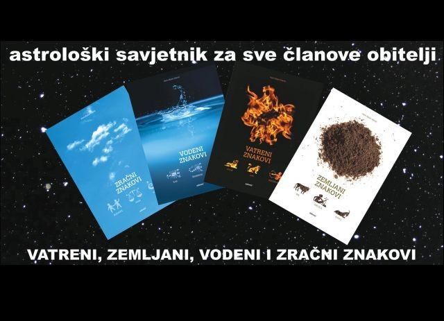 Komplet: Vatreni, Zemljani, Vodeni i Zračni znakovi